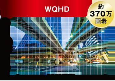 WQHD約370万画素