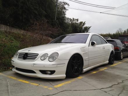Mercedes-benz cl55 AMG ワンオフ車高調