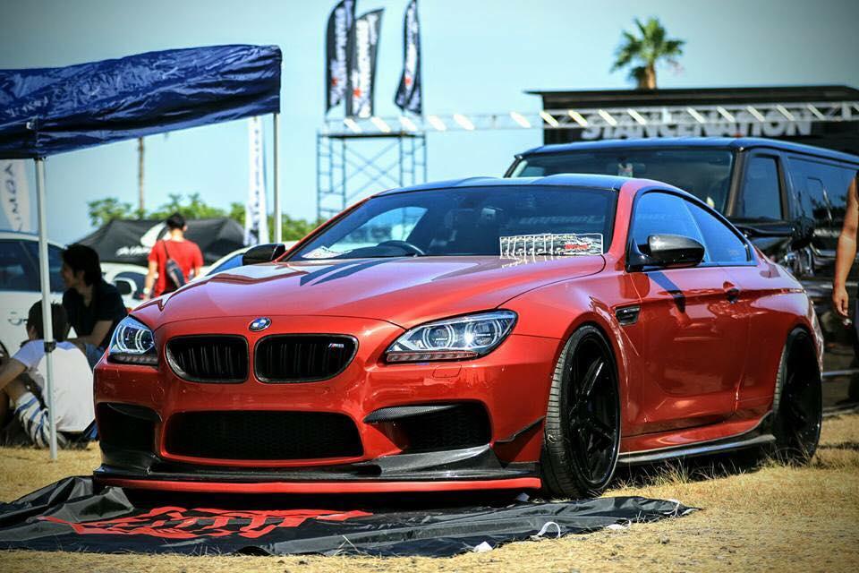 BMW M6 スムージング、ホイール塗装、各部カスタムペイント