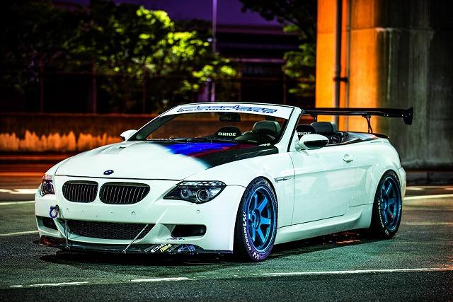 BMW M6 ボンネットカスタムペイント、リアディフューザー製作