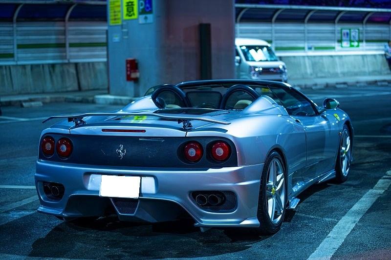 フェラーリ 360スパイダー ワンオフ リアウィング