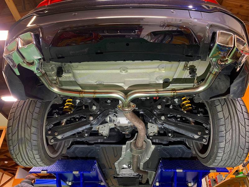 BMW X4 ワンオフマフラー