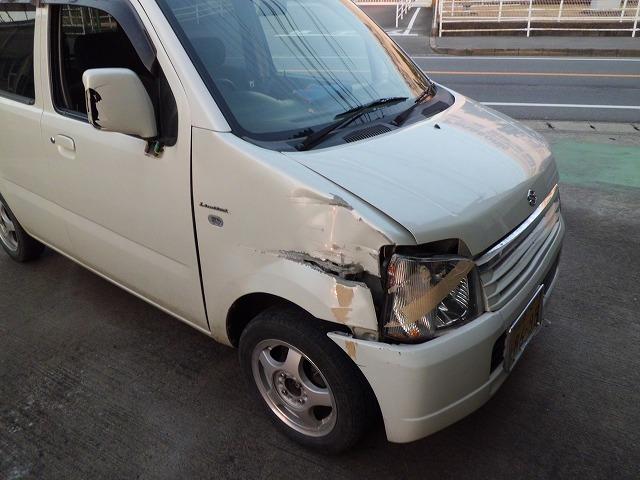 鈑金塗装 京田辺市 ワゴンR