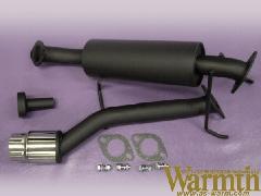 S100VハイゼットバンWarmth砲弾マフラー