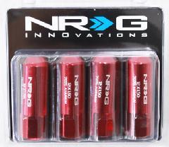 NRG LN-470シリーズ ラグナット レッド M12x1.5