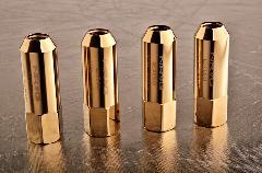 NRG LN-470シリーズ ラグナット ゴールドクローム M12x1.5