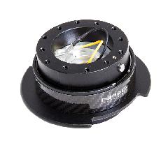 NRG クイックリリースボス ブラック×カーボン 2.5