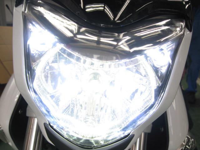 GSR250LEDヘッドライト化