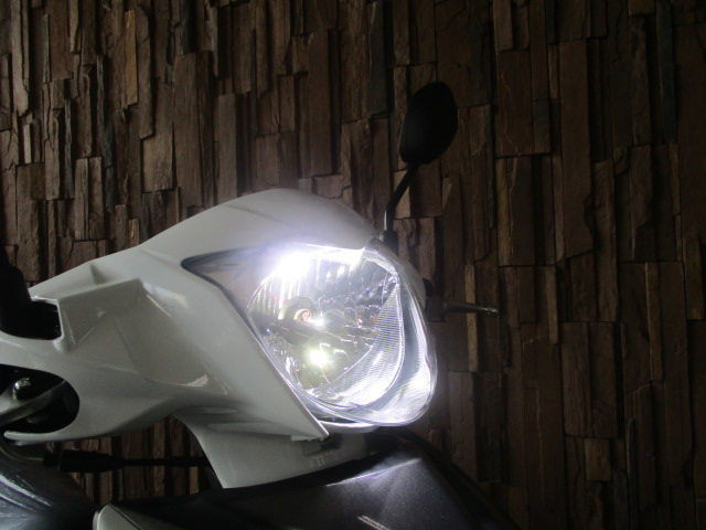 LED ヘッドライト アドレス110