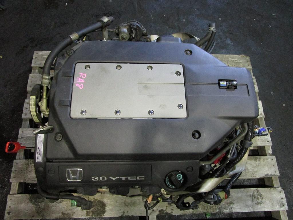 オデッセイ LA-RA8-105 エンジン テストOK 85669Km J30A