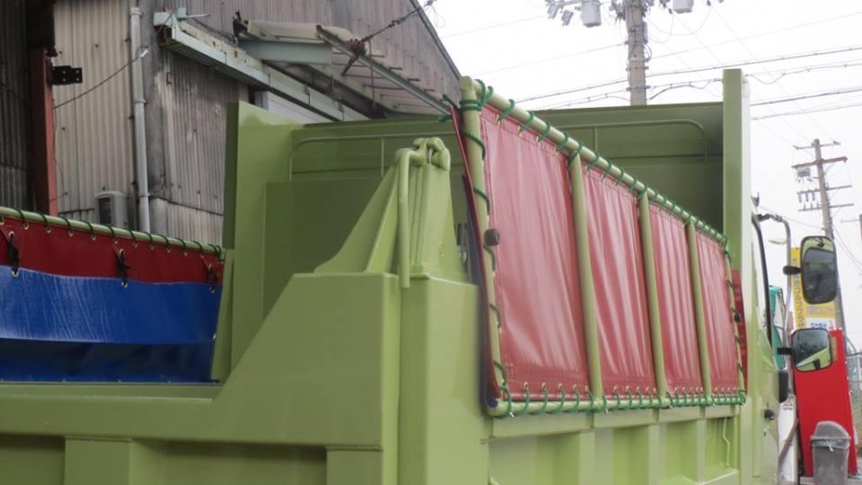 コボレーン制作、シート、サニーホース取り付け