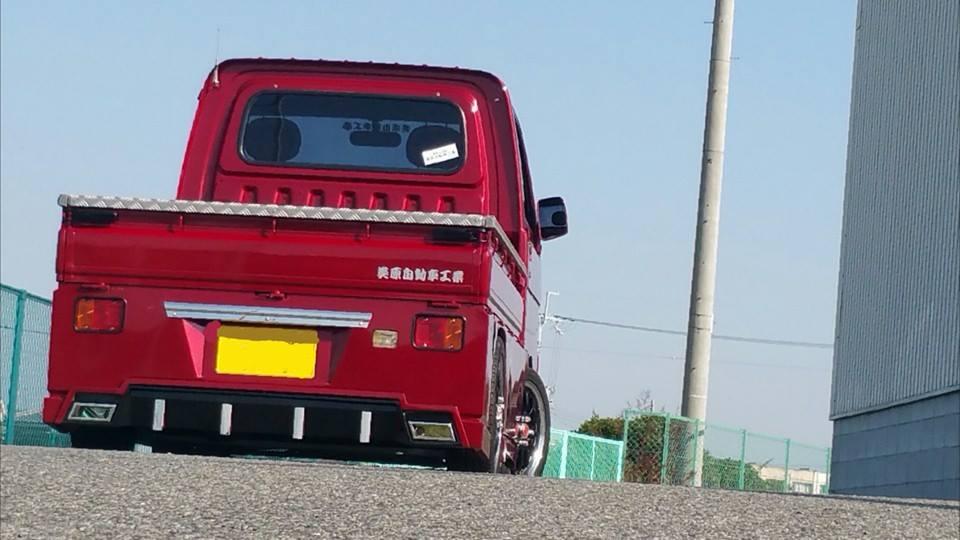 軽トラデモカー改良版