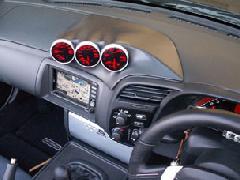 S2000メーターホルダー(黒塗装済み)