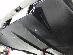 アミスリアバンパー用リアディフューザー ウエットカーボン製