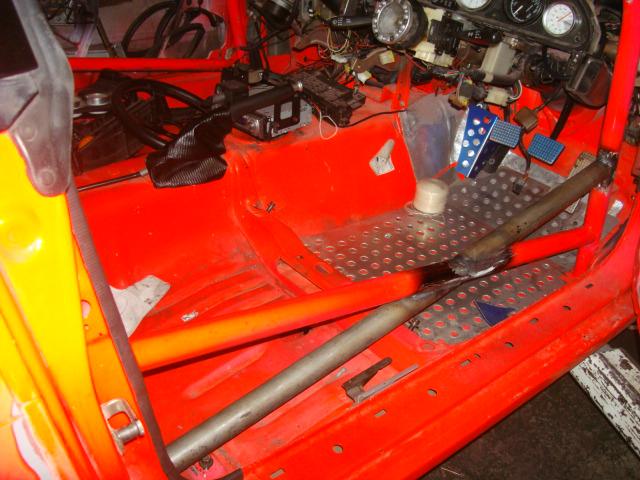 S13、フレーム補強、ロールバー製作、スポツト増