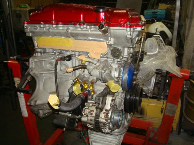 SR20DET、エンジンオーバーホール