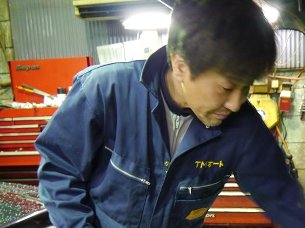 東京墨田区の外車専門工場