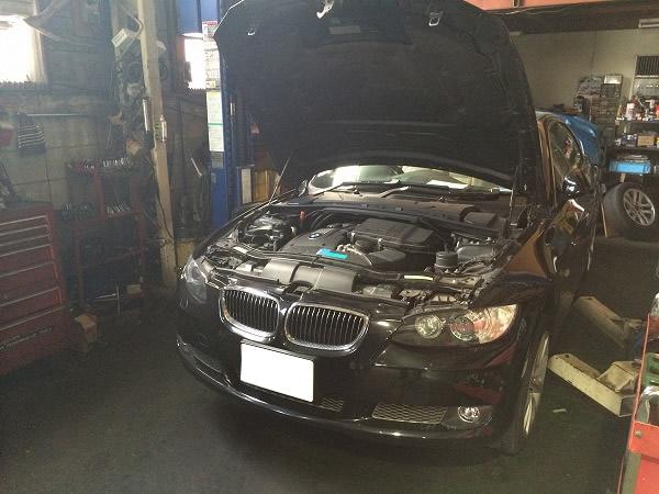BMWウォーターポンプ故障