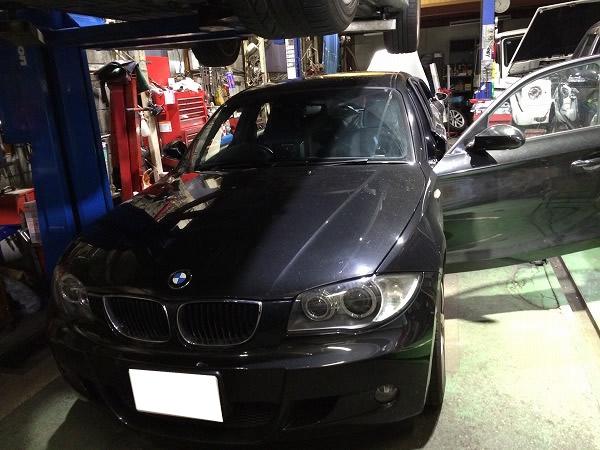 BMWのナビ取り外し