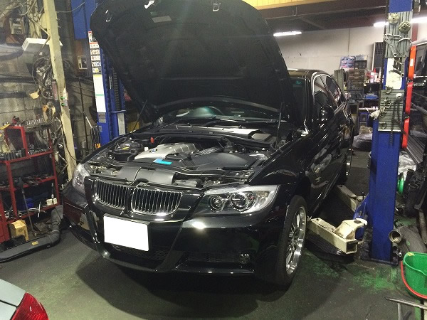 BMWポンプモーター不良