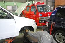 自動車修理工場