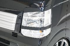 LS-LINE アイライン&ヘッドライトガーニッシュセット エブリィワゴン(DA17W)専用モデル