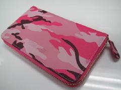 男性用 カバン財布 ピンク