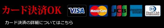 カード決済OK カード決済の詳細についてはこちら