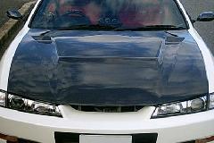 S14 SILVIA           エアロボンネット(Carbon)