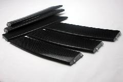 MS/AXELA ZENITH LINE       フロントバンパー用ダクトフィン(Carbon)