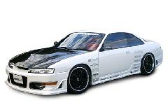 シルビア S14 Bonnet(CARBON)