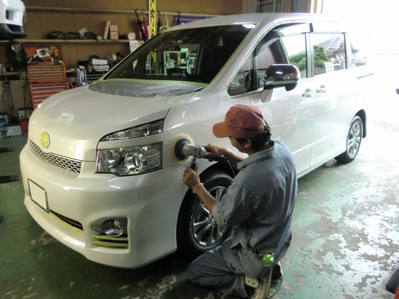 板金塗装、事故車修理