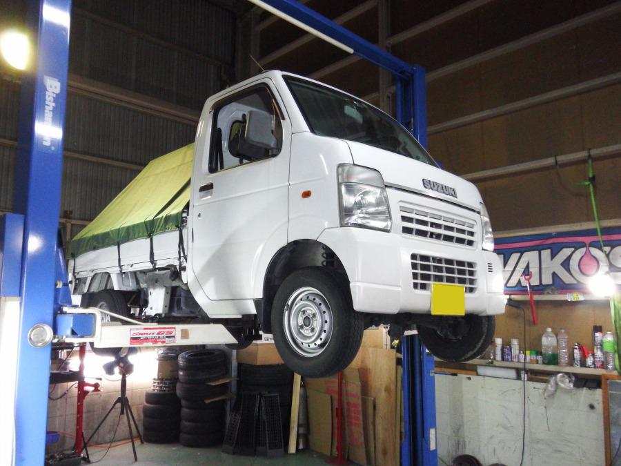 スズキ DA63T キャリートラック クラッチ一式交換
