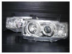 LEDイカリング付プロジェクターヘッドライト