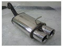 新品!オリジナル・デュアルマフラー NCP13ヴィッツ・1300CC