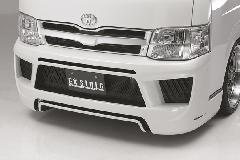 Front Bumper Spoiler�iHIACE 200Type 3�^ EX-Style3 Bumper Type �i���[�j