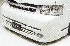 Front Bumper Spoiler[ネット付](HIACE 200Type1/2型EX-Style1 ワイド)