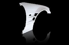 S15 シルビア全年式 ツインダクト +55mm フロントフェンダー 左右セット