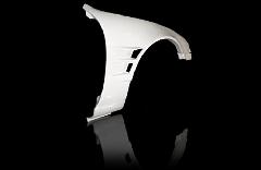 S14 シルビア後期 ツインダクト +45mm  フロントフェンダー 左右セット