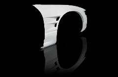 S13 シルビア全年式 ツインダクト +55mm  フロントフェンダー 片側