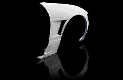 S13 シルビア全年式 シングルダクト +20mm  フロントフェンダー片側