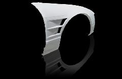 180SX全年式 +40mm  フロントフェンダー 左右セット