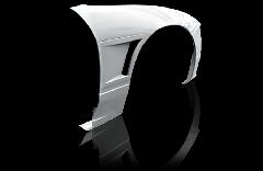 180SX全年式 シングルダクト +20mm  フロントフェンダー 片側