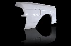 180SX全年式 プレスライン入り+50mm  リアフェンダー 左右セット
