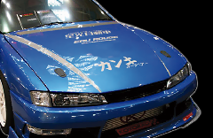 S14 シルビア後期/Type2 ボンネット CB-13-silver Silver carbon