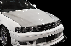 JZX100 チェイサー全年式/Type2 ボンネット CB-17-silver Silver carbon JZX100