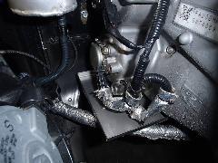 カム角センサー遮熱板