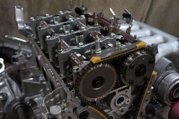 Stradale FD2 エンジンルーム