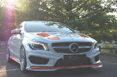 CLA C117用 s.d.f star design factory社製 Painted Front lip spoiler Type B