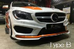 CLA C117用 s.d.f star design factory社製 Painted Aero Full Kik Type B